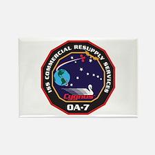 OA-7 Spacecraft Rectangle Magnet