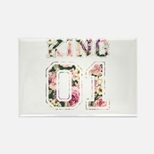 king and queen couple shirts Magnets