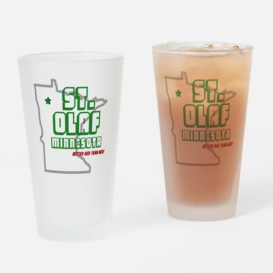 Funny Ned Drinking Glass