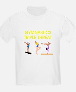 TOP Gymnastics Slogan T-Shirt