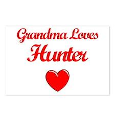 Grandma Loves Hunter Postcards (Package of 8)