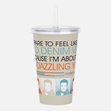 Modern Family Denim Ve Acrylic Double-wall Tumbler