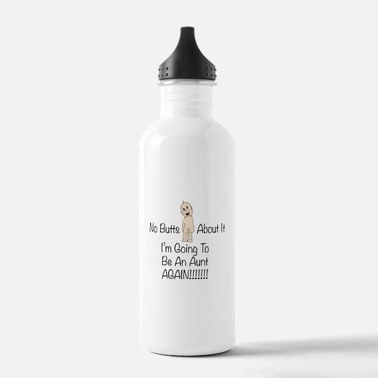 Baby Butt Aunt Again Water Bottle