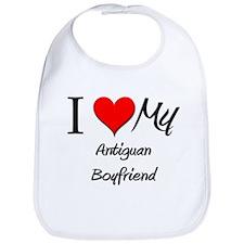 I Love My Antiguan Boyfriend Bib