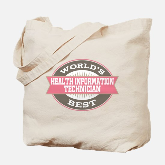 health information technician Tote Bag