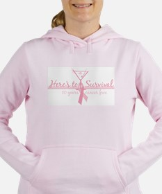 Cancer Free 10 years (martini Sweatshirt