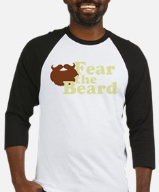 Fear the Beard - Brown Baseball Jersey