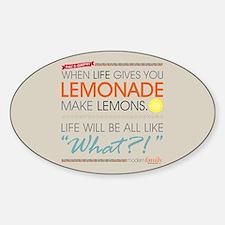Modern Family Phil's-osophy Lemonad Decal
