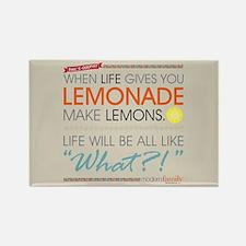Modern Family Phil's-osophy Lemon Rectangle Magnet