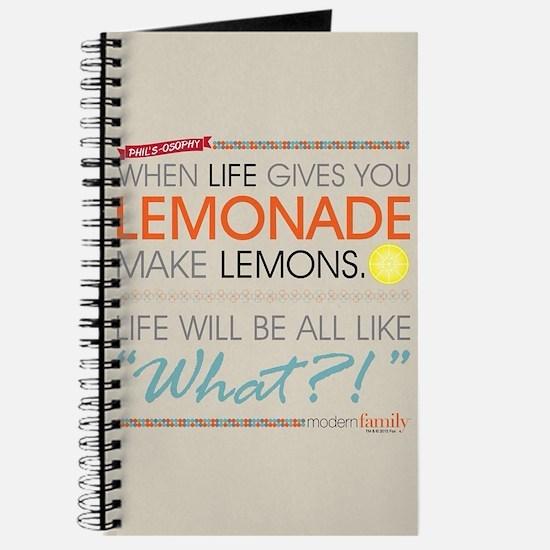 Modern Family Phil's-osophy Lemonade Journal