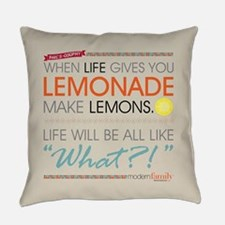 Modern Family Phil's-osophy Lemona Everyday Pillow