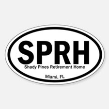 Euro Oval Decals - Shady Pines Decal