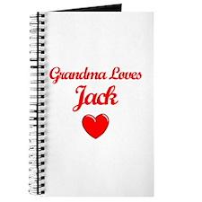 Grandma Loves Jack Journal