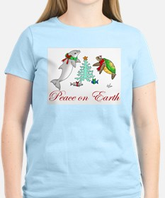 Peace on Earth Ash Grey T-Shirt