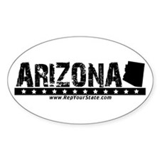 Arizona Oval Decal