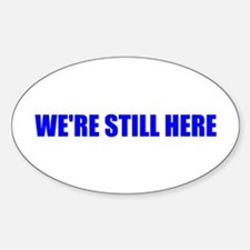 Here Sticker (Oval)