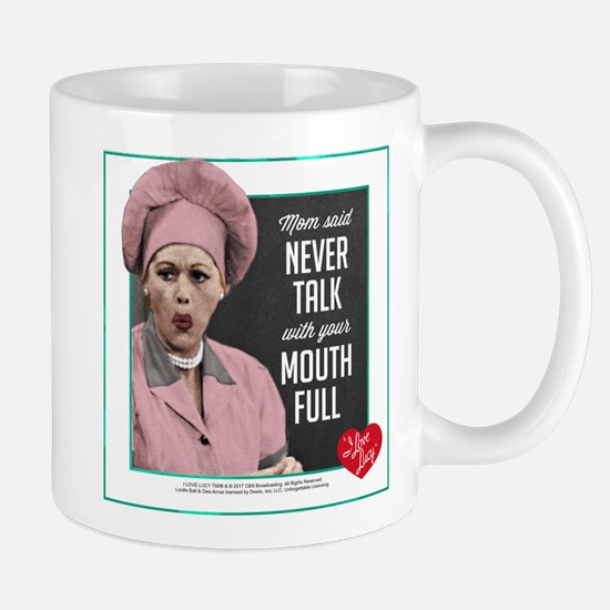 Talk with Mouth Full Mug