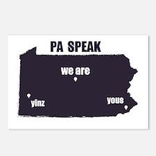 PA Speak Postcards (Package of 8)