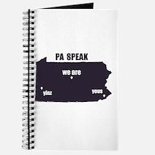 PA Speak Journal
