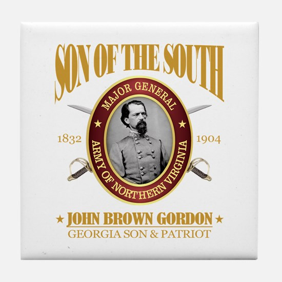John B Gordon (SOTS2) Tile Coaster