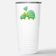 Turtle Hugs Stainless Steel Travel Mug