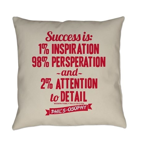Modern Family Pillows : Modern Family Success Everyday Pillow by ModernFamilyTV