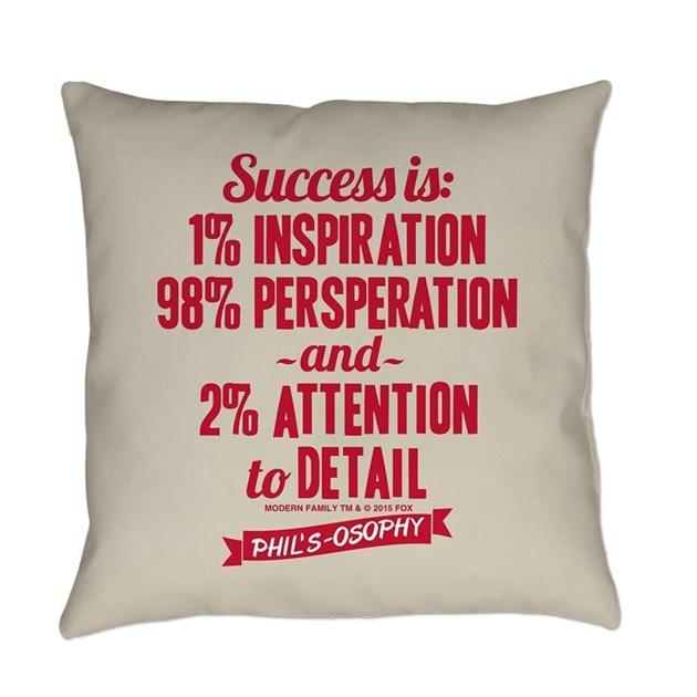 Modern Family Success Everyday Pillow by ModernFamilyTV