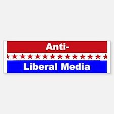 Anti-Liberal Media Bumper Bumper Bumper Sticker