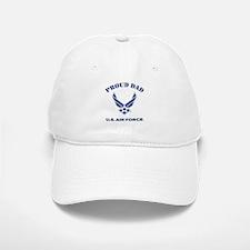 Proud US Air Force Dad Baseball Baseball Cap