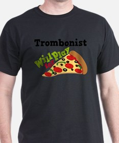 Trombone Play For Pizza T-Shirt