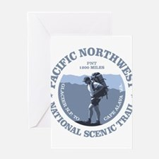 Pacific Northwest Trail Greeting Cards