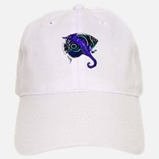 Sea horse purple fish Baseball Baseball Cap