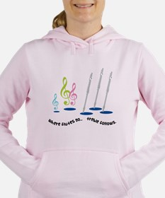 Flute Treble Quote Sweatshirt