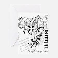 Angelknight Prince Greeting Cards
