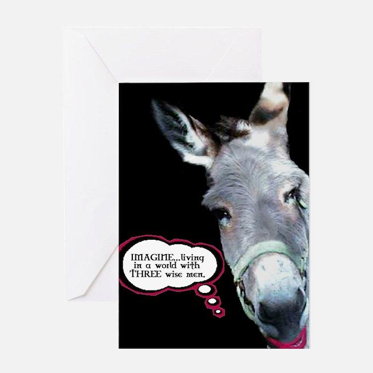 Funny Donkey Greeting Cards – Donkey Birthday Card