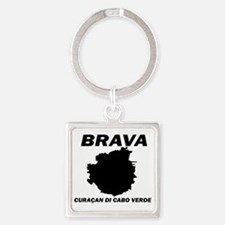 Brava Curasan Square Keychain Keychains