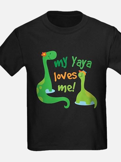 My Yaya Loves Me Dinosaur T-Shirt