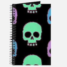 Pastel Skulls Journal