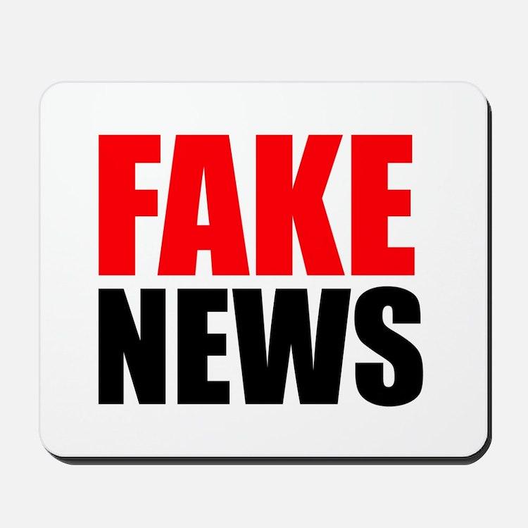Fake News Mousepad