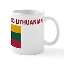 HAPPINESS IS BEING LITHUANIAN Coffee Mug