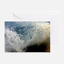 p2511. wavecrash, downcape  Greeting Cards (Packag