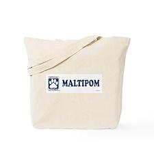 MALTIPOM Tote Bag