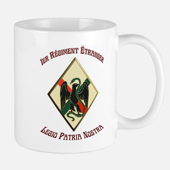 1St Regiment French Foreign Legion Mugs