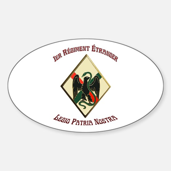 1st Regiment French Foreign Legion Decal