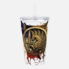 Cute Special operations Acrylic Double-wall Tumbler