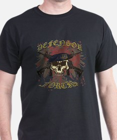 Security Forces Skull Rifles T-Shirt