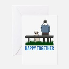 happy together Greeting Cards