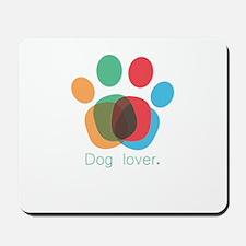 dog lover Mousepad
