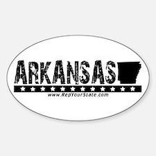 Arkansas Oval Decal