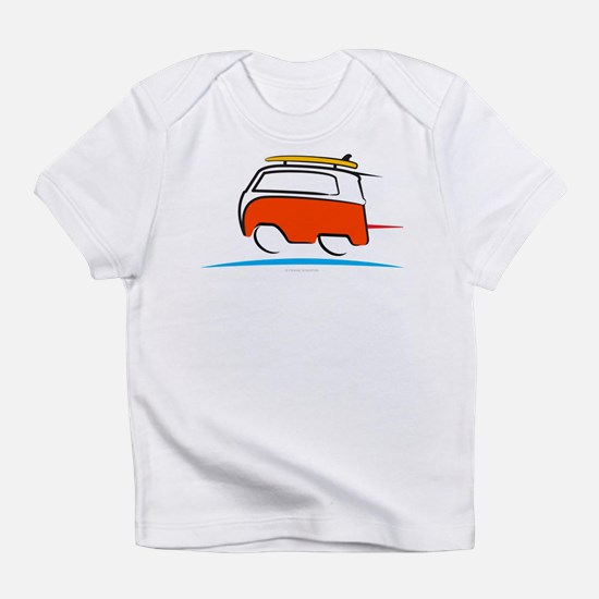 Red Shoerty Van Gone Surfing Infant T-Shirt